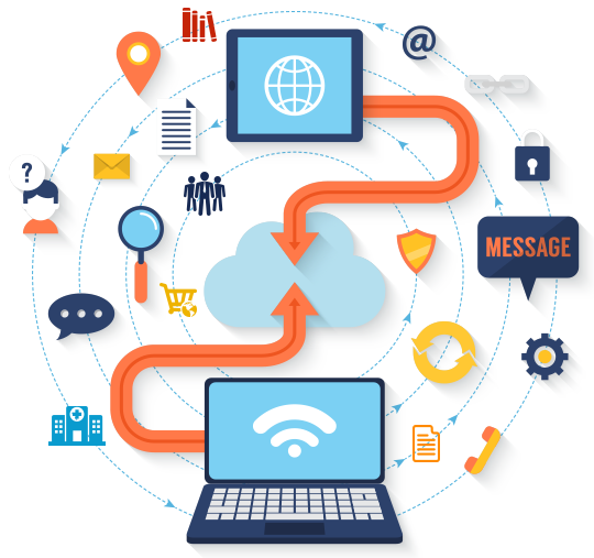 Enterprise Portal infographic